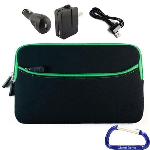 Cover Case and Charger Bundle for Samsung Galaxy Tab 7.7 LTE