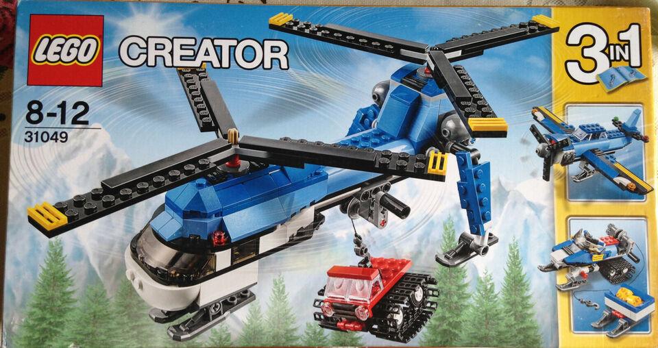 LEGO 31049 Creator 3 in 1 Elicottero bi-elica MISB