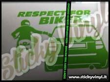 Adesivi Auto Respect For Bikers Tuning Stickers Decals Car
