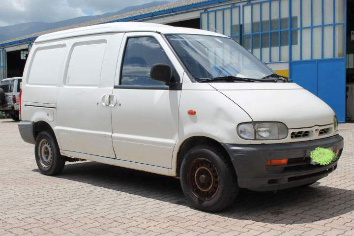 Nissan vanette cargo unipro motore nuovo 4