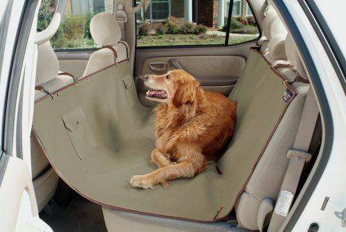 This Waterproof And Machine Washable Seat Cover Lies Across The Back Of The  Car, And Attaches To The Headrests Of The Seats With Adjustable ...