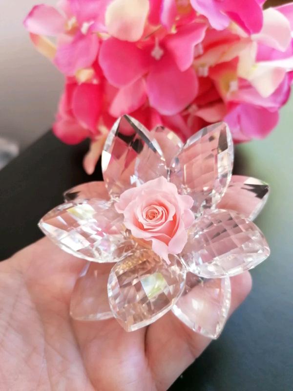 Bomboniera fiore cristallo e rosa eterna a Salerno ...