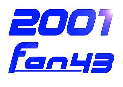 2001fan43 models