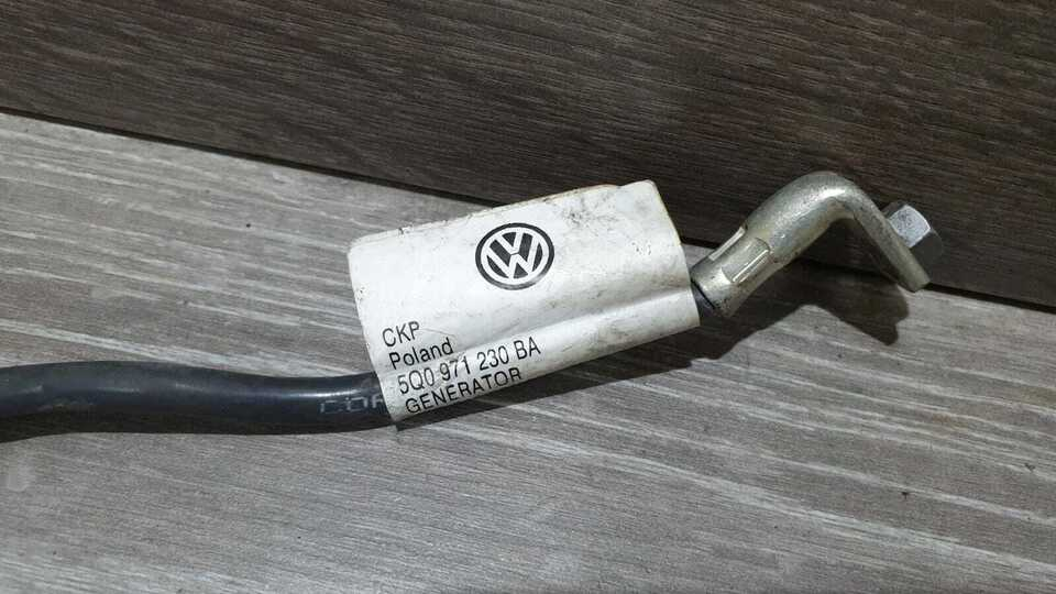 5q0971230ba volkswagen golf 7 tiguan cavo alternatore compres. 8