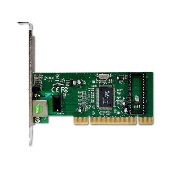 Hiro 32 bit 10/100/1000 Mbps Gigabit Ethernet Card with Windows 8 Compatibility