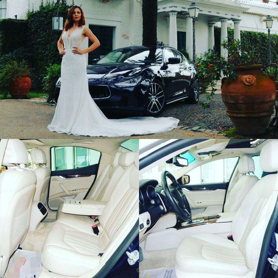 Noleggio Maserati Ghibli per matrimoni ed eventi