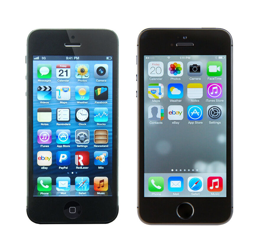 iphone 5s vs iphone 5 iphone 5 vs iphone 5s ebay 17518