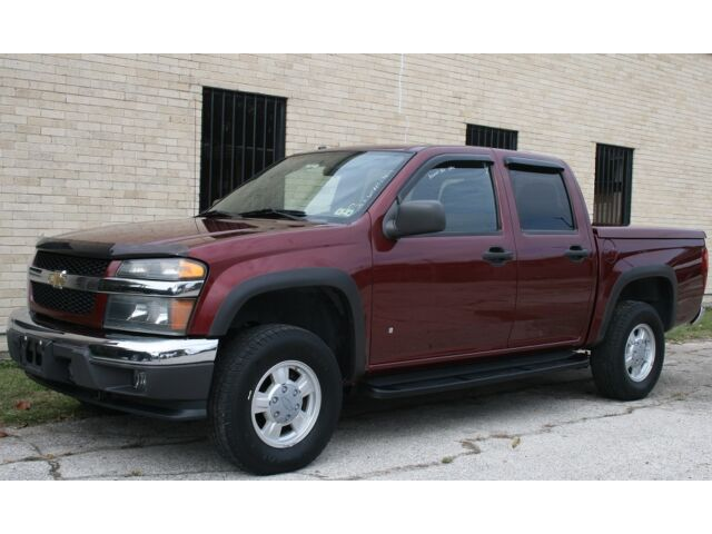 2007 chevy colorado 4x4 crew cab automatic only 59k miles used chevrolet colorado for sale. Black Bedroom Furniture Sets. Home Design Ideas