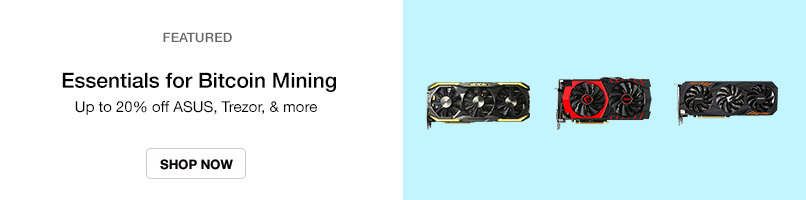 Up to 20% off Bitcoin Mining Essentials