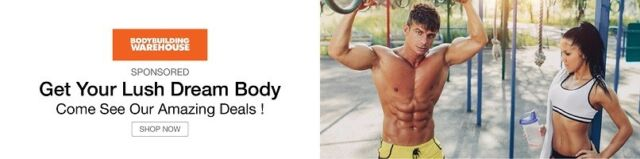 Get Your New Body With Bodybuilding Warehouse