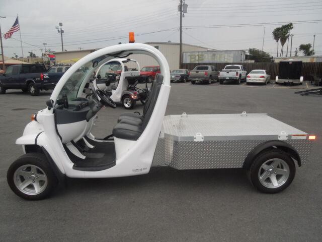 Polaris gem all electric street legal flatbed new for Elliff motors harlingen tx