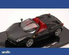 Hot Wheels HWW1184 FERRARI 458 SPIDER 2011 MATT BLACK 1:43
