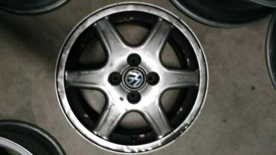 Cerchi 6X15 VW Polo/Golf 2 e 3 4X100 (rif.126/K)
