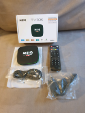 Tv box android meiq 4k nuovo