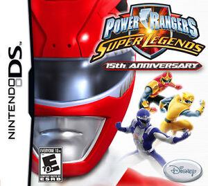 Power Rangers Super Legends (Nintendo DS) Lite Dsi 2ds 3ds XL
