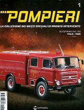 Pompieri OM 150 libretto + modello