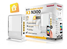 Modem/router wi fi SITECOM X3 n300 come nuovo