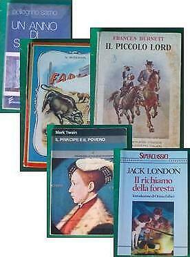 5 libri ragazzi Piccolo Lord Fabiola Richiamo...