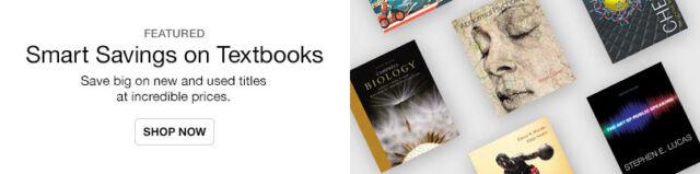 Smart Savings on Textbooks