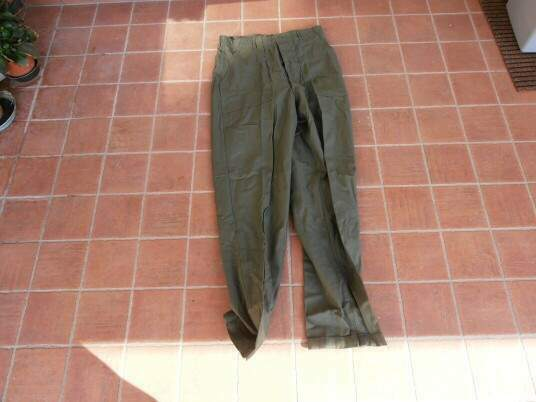 Us army o.g. 107 sateen - viet nam utility trouser