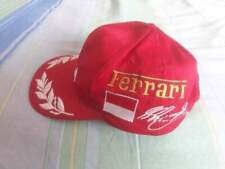 Cappellino DEKRA ferrari originale michael shumacher collection