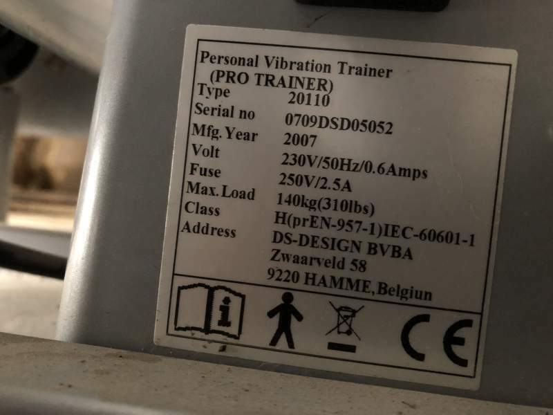 Pedana Vibrante Dkn Technology Pro Trainer 7