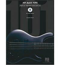 101 Bass Tips: Stuff All the Pros Know and Use by Gary Willis (Mixed media...