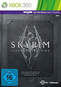The Elder Scrolls V: Skyrim -- Legendary Edition (Microsoft Xbox 360, 2013, DVD…