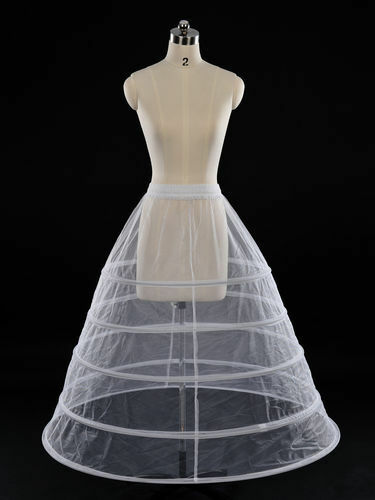 wedding gown hoop slip supports this dramatic and popular bridal