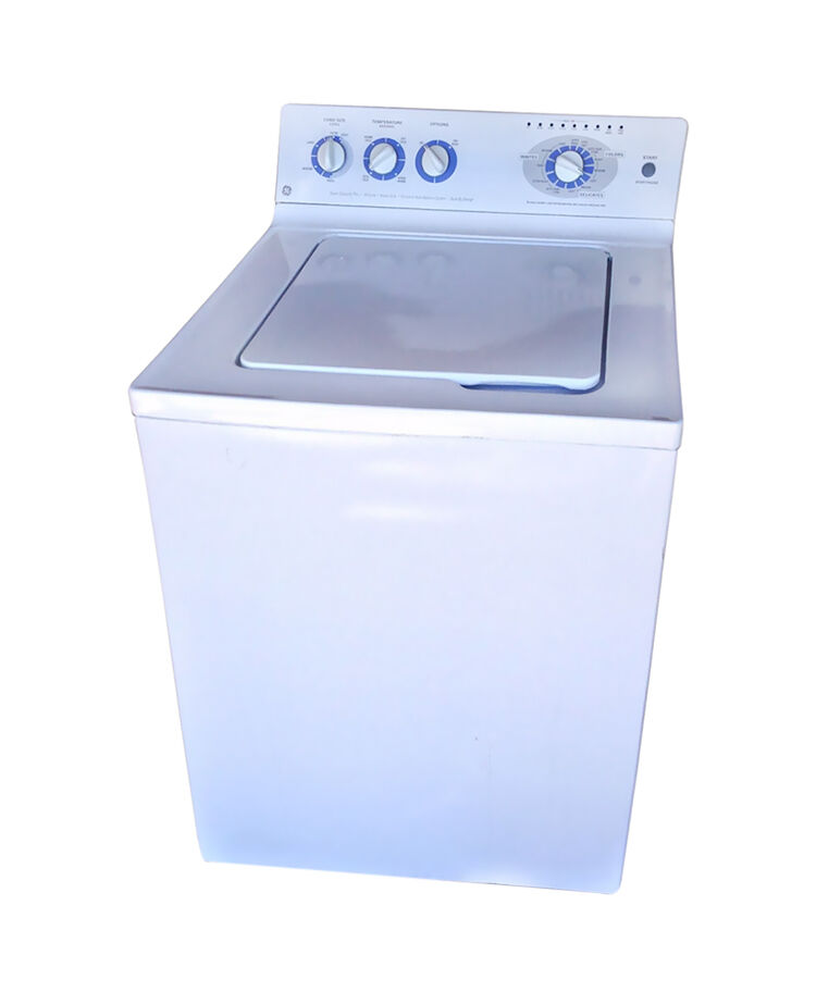 Where can you find replacement parts for a GE washer?