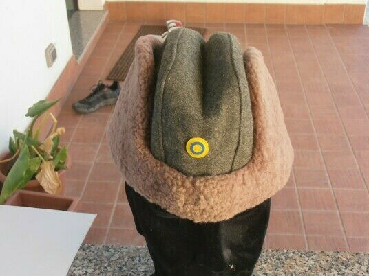 Swedish army - winter fur cap