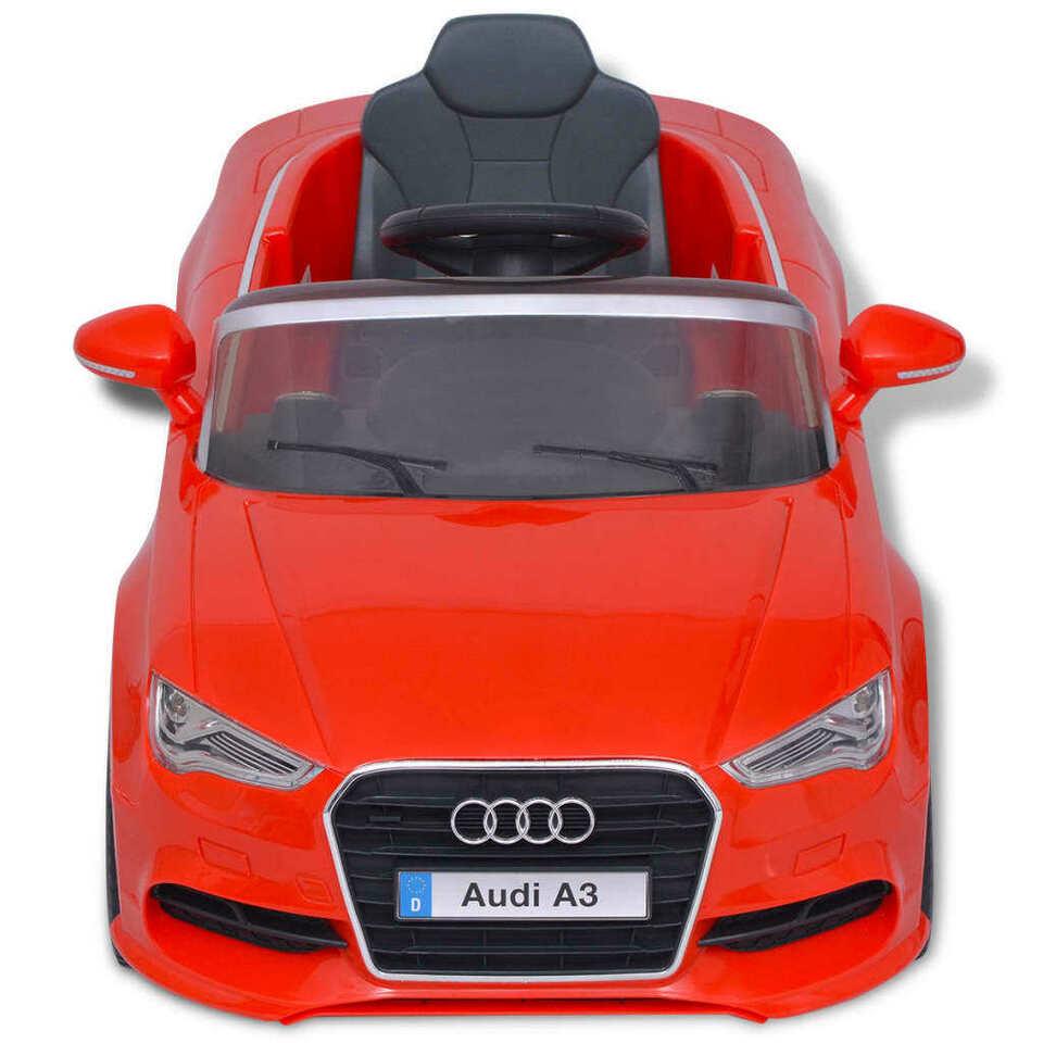 Automobile Elettrica con Telecomando Audi A3 Rossa 5