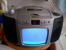 Radio cd TV portatile seleco