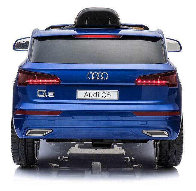 Macchina Elettrica Per Bambini 12v Audi Q5 Blu 4