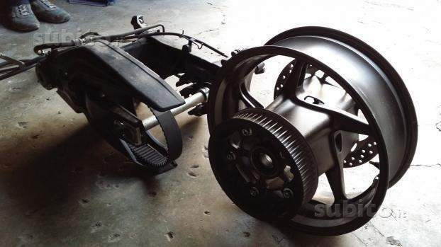 TMAX Forcellone 530 KIT MODIFICA Yamaha TMAX 500