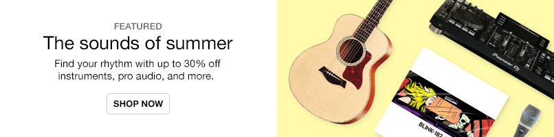 Up to 30% off instruments and more
