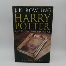 Harry potter and the half-blood prince first edition bloomsbury