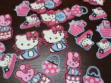 Box set 24 sagome in gomma hello kitty fashion