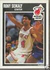 Rony Seikaly Basketball Trading Cards