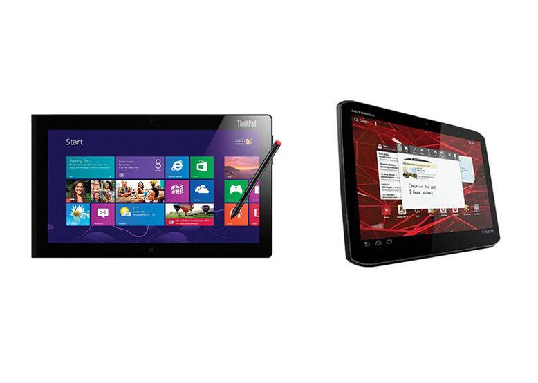 Motorola XOOM 2 vs. Lenovo ThinkPad