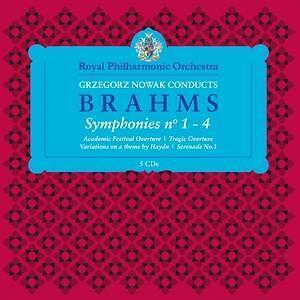 Grzegorz Nowak Conducts Brahms CD / Box Set NEU
