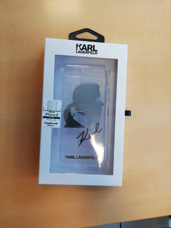 Cover iPhone 7-8 Karl Lagerfeld