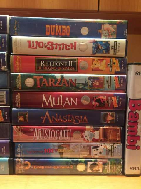 Videocassette VHS Disney, Harry Potter e altri 2
