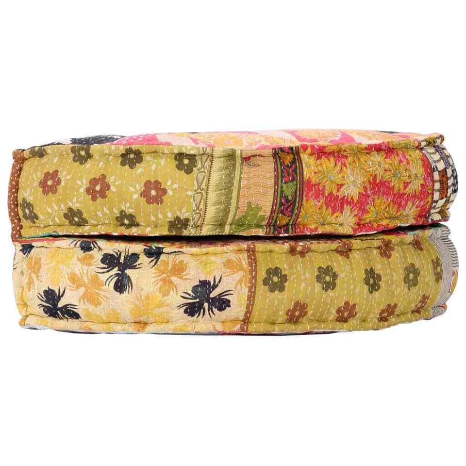 Pouf 100x20 cm in Tessuto Patchwork 5