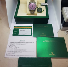 Rolex Oyster Perpetual 39 Red Grape Dial
