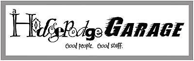 A Hodgepodge Garage