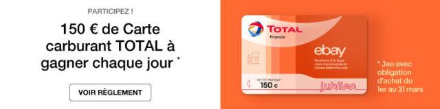 150 € de Carte carburant Total
