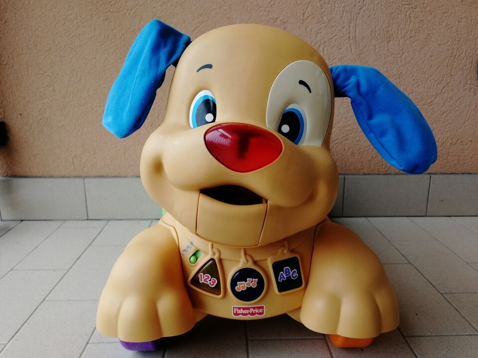Cagnolino Primi Passi Cavalcabile Fisher Price