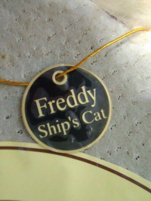 Freddy The Shipwrecked Cat della NAUTICALIA usato da collezione 3