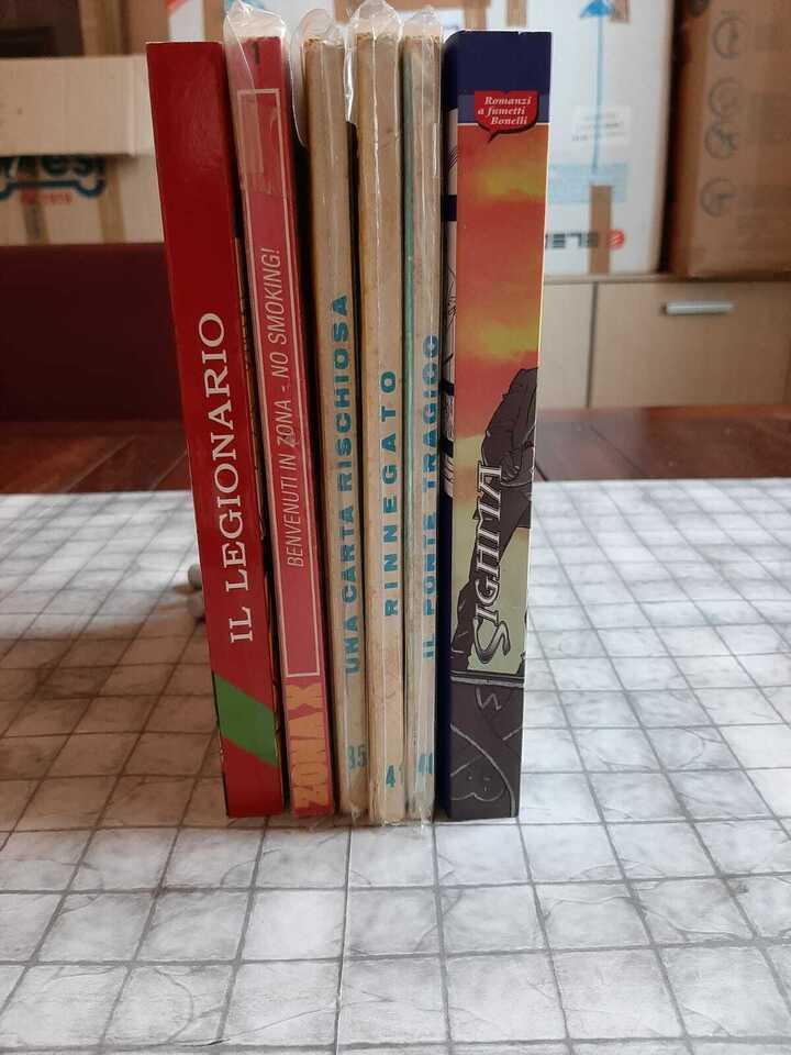 Fumetti Bonelli: romanzi, Tex, Martin Mystere 3